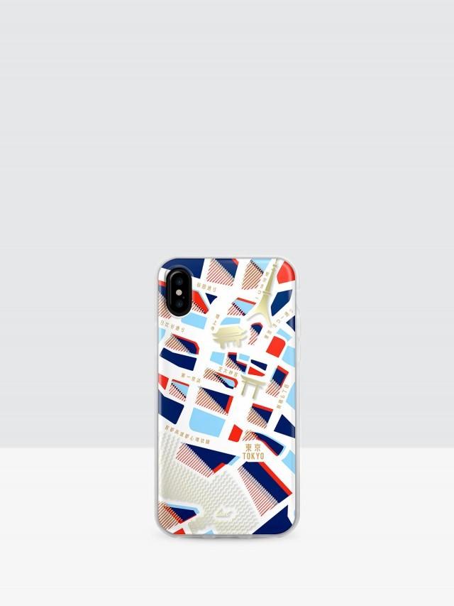 LAUT iPhone X 經典城市系列雙料保護殼 - 東京