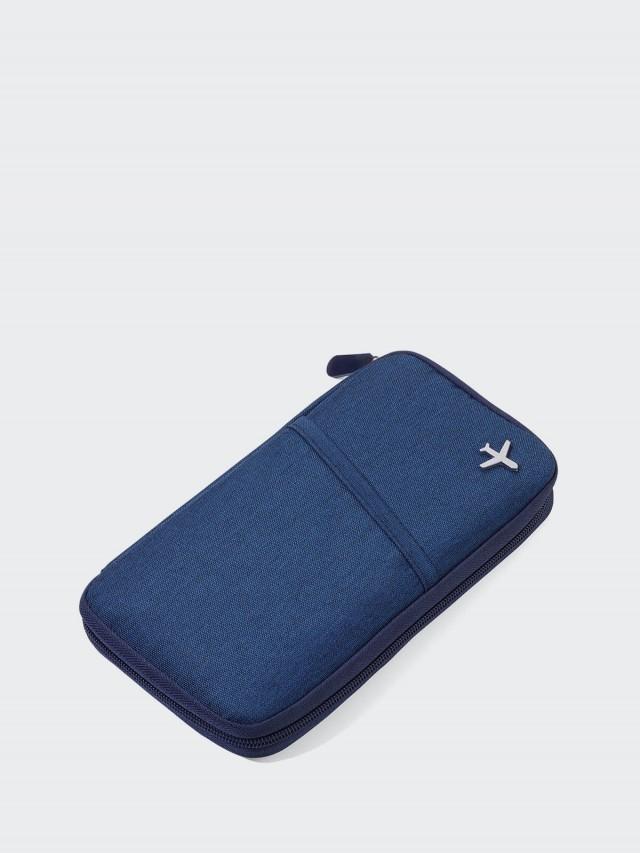 TROIKA RFID 屏障護照夾 - 藍