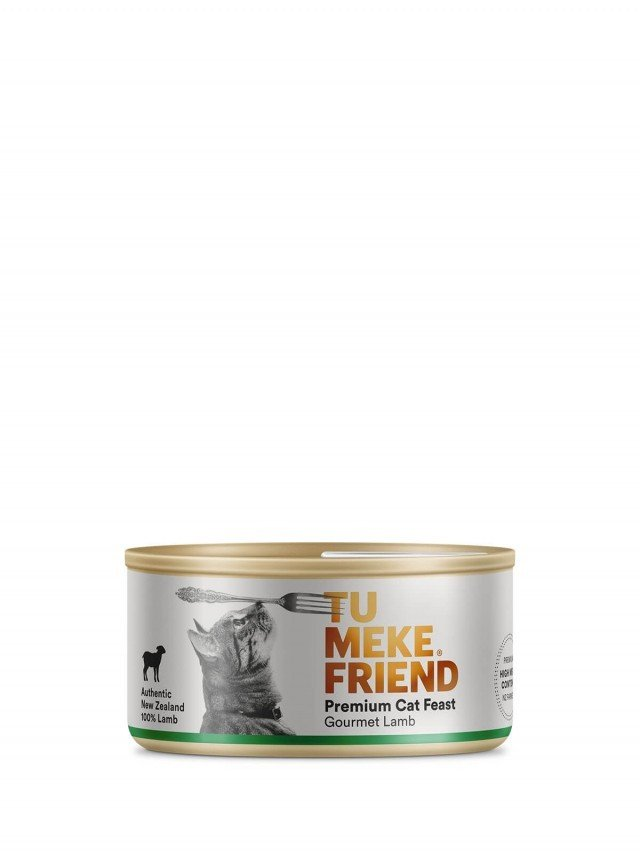 TU MEKE FRIEND 圖米其 頂級純淨主食貓罐 - 小羔羊 - 4 入