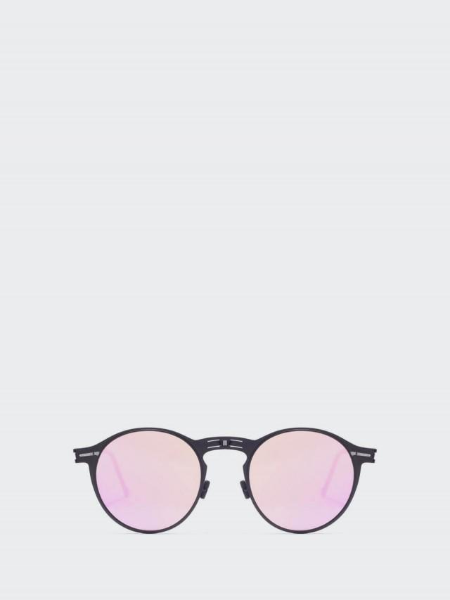 ROAV 薄鋼摺疊太陽眼鏡 -  Balto 黑框 / 粉紅水銀鏡片