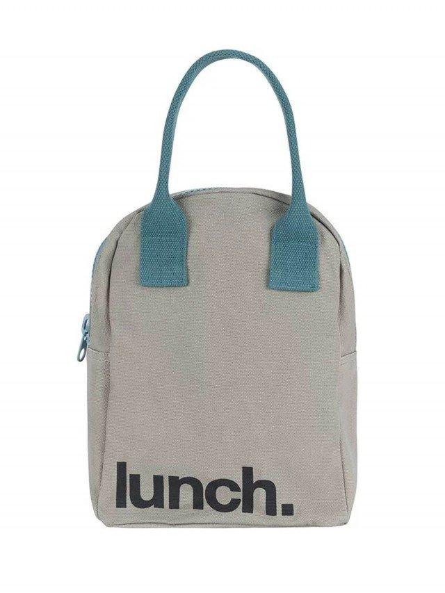 fluf 拉鍊隨手袋 - 午餐藍調之夜