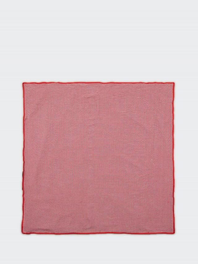 LES JARDINS DE LA COMTESSE 紅色格子野餐墊