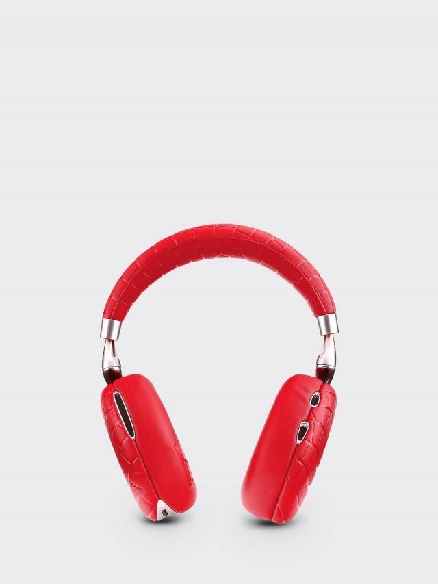 Parrot Zik 3 耳機 - 鱷魚紋 / 紅色