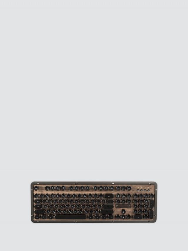 AZIO RETRO CLASSIC ELWOOD BT 核桃木復古打字機鍵盤 - 無線版