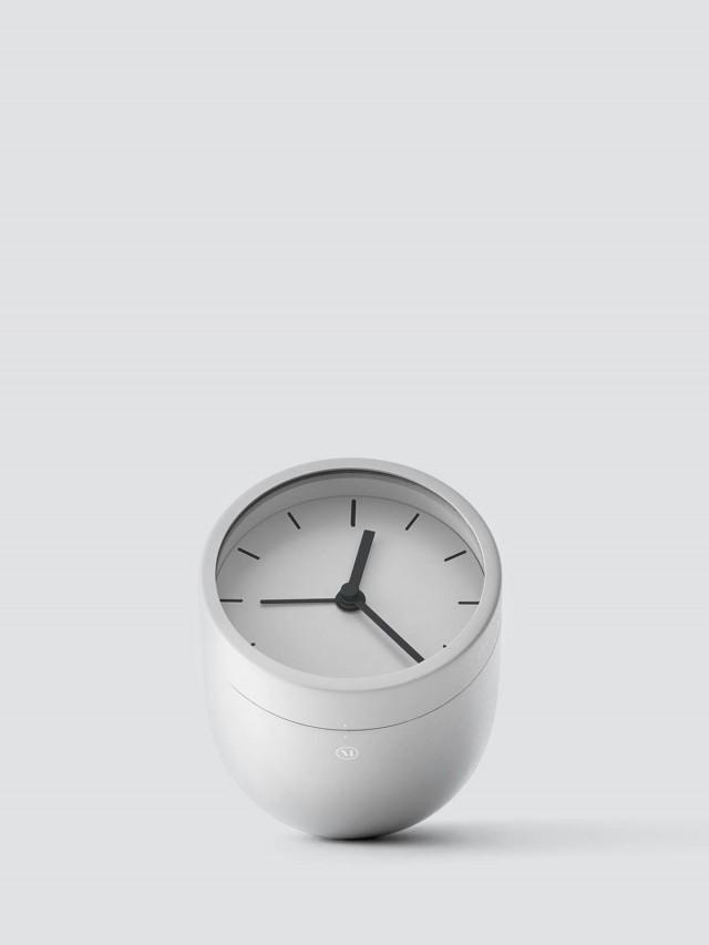 MENU 儲物桌鐘 - 白色