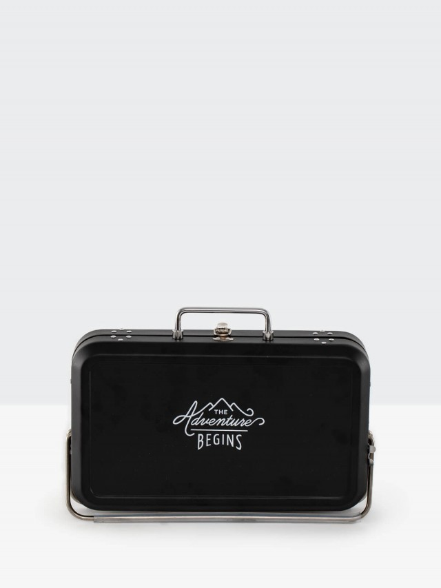 Wild & Wolf 紳士小物 - 行李箱烤肉架