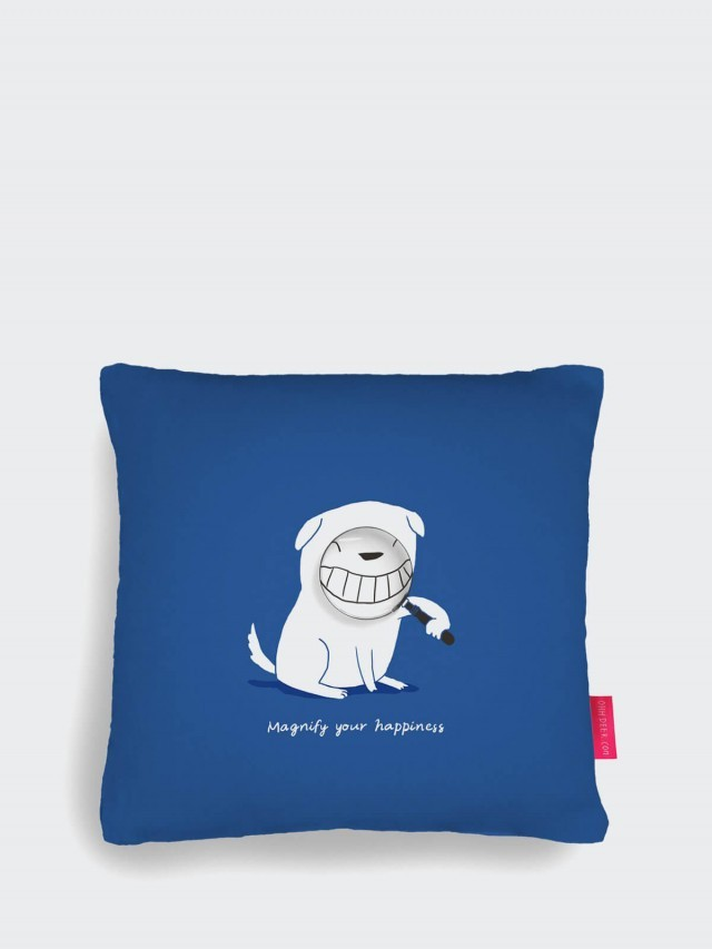 OHH DEER MAGNIFY YOUR HAPPINESS CUSHION 放大快樂狗狗抱枕