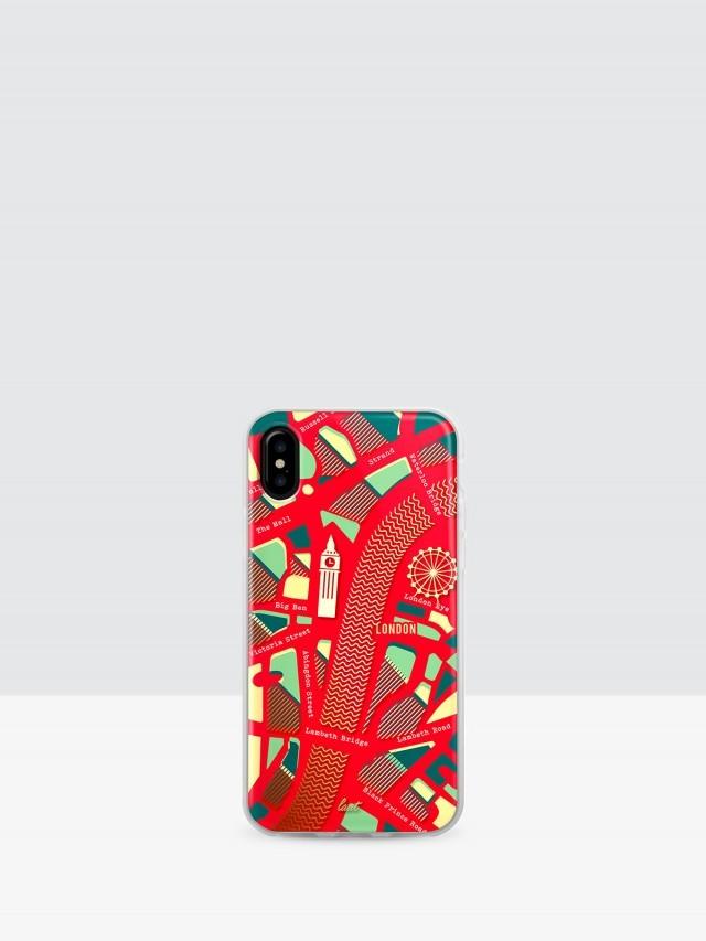 LAUT iPhone X 經典城市系列雙料保護殼 - 倫敦