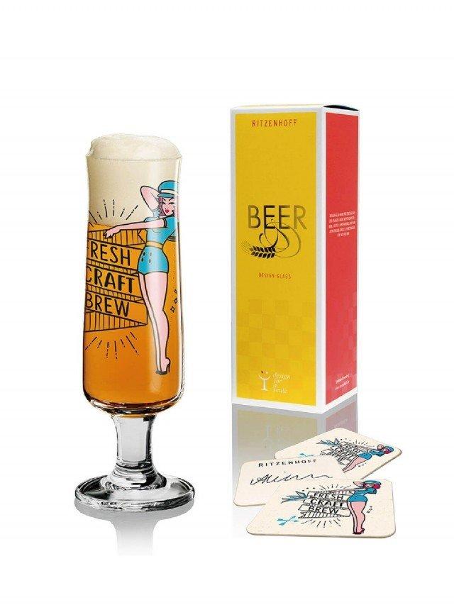 RITZENHOFF BEER 新式啤酒杯 / 啤酒美眉