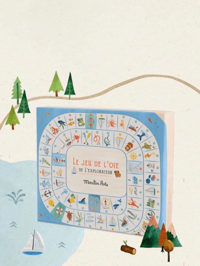 Moulin Roty 花園派對遊戲 - 海洋奇航桌遊