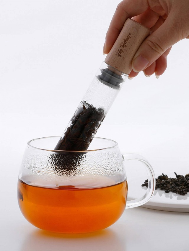 Simple Lab ELIXIR ( + )  化學系玻璃試管泡茶棒