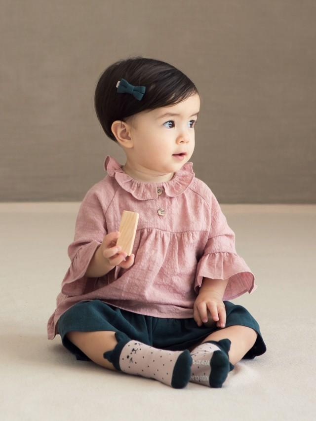 HAPPY PRINCE Rumi 嬰童短襪  - 粉