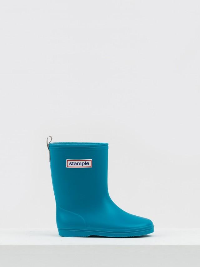 stample 日本製兒童雨鞋 - 天空藍