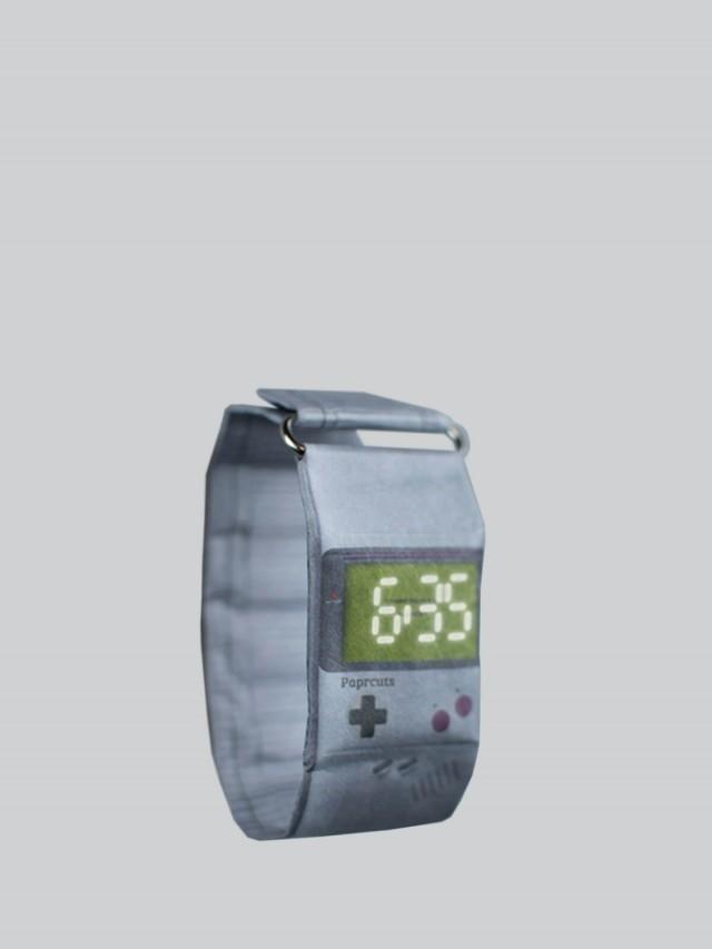 paprcuts.de paprcuts watch Game Boy 手錶 x 遊戲機