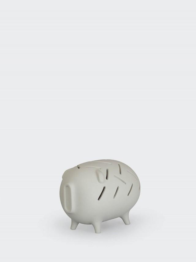 25TOGO DESIGN HUNGRY 多吃存錢豬 - 灰色