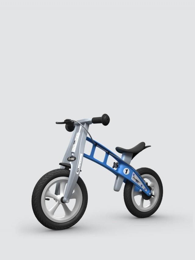 FirstBIKE 兒童滑步車 / 平衡車 - 街頭天空藍 / 附煞車