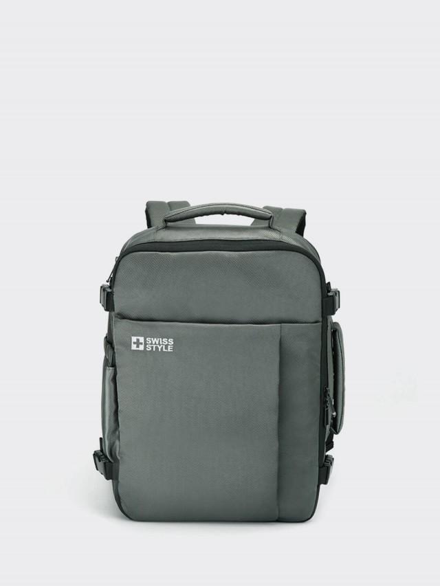 Swiss Style Voyager 輕旅 / 出差 隨身行李後背包 - 墨綠