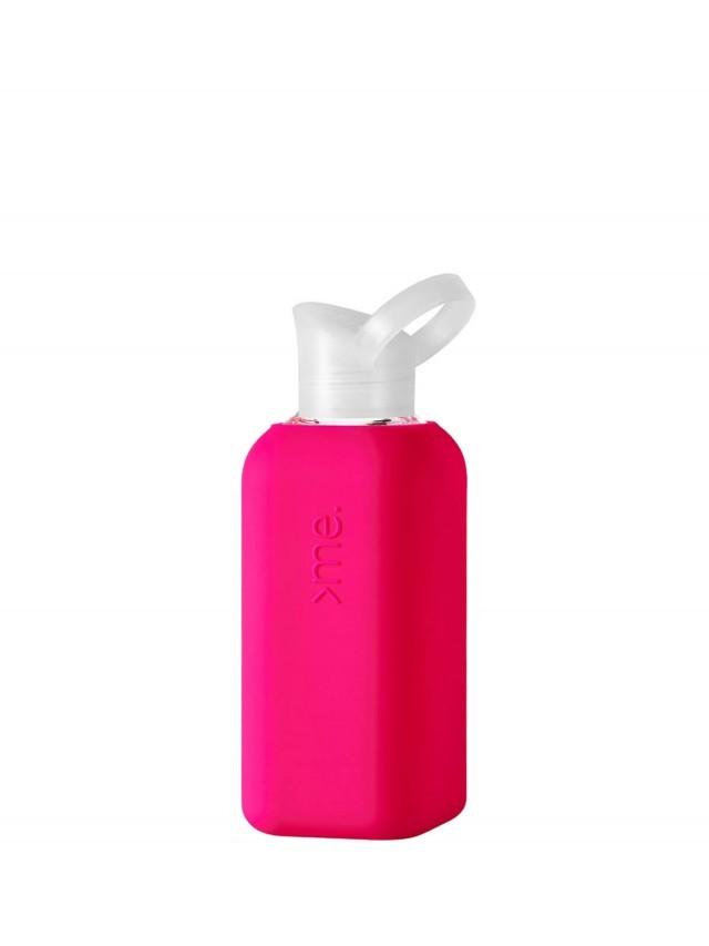 SQUIREME. 玻璃水瓶 - 粉色