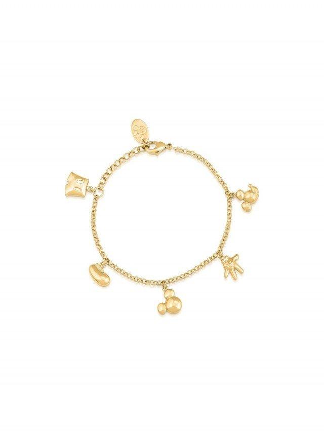 COUTURE KINGDOM Disney Jewellery 迪士尼米奇經典墜飾層次手鍊 x 金