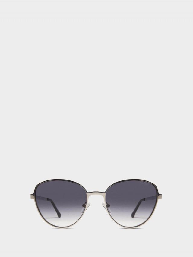 KOMONO 太陽眼鏡 Chris 克里斯系列 - 銀黑