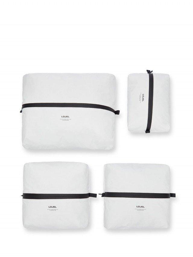 LOJEL Slash 衣物收納袋 ( 4 入裝 ) - 白色