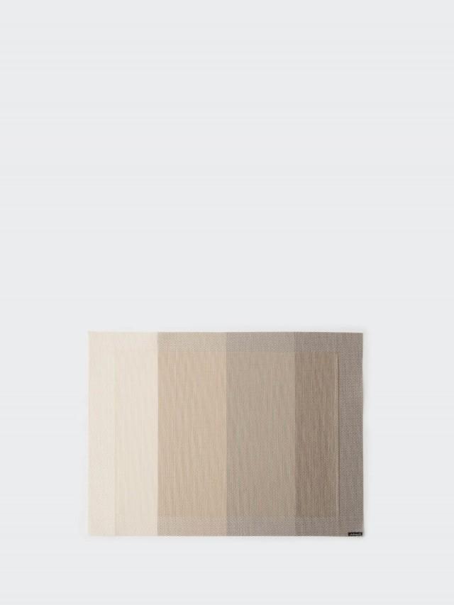 chilewich 餐墊 矩形 Color Tempo - 象牙白