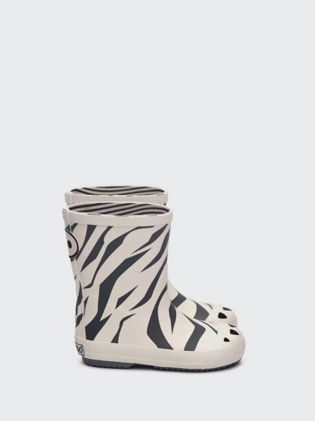 BOXBO 雨靴 - 愛時尚 / 斑馬