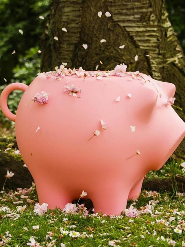werkwaardig 小豬邊桌 - 粉紅色