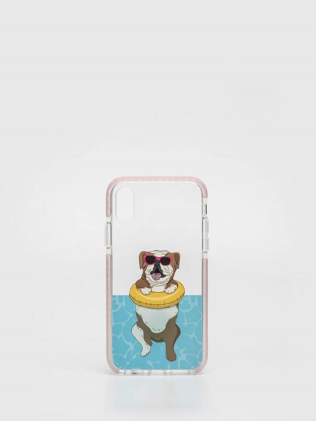 CASETiFY iPhone X 游泳英鬥手機殼