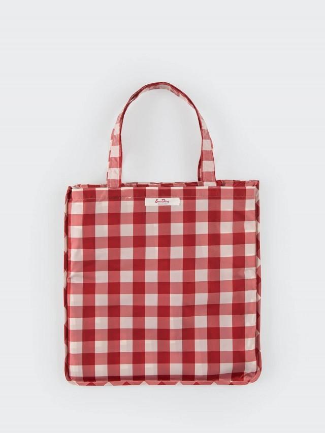 SweetThing 經典美式紅白格紋 4 人防水收納野餐墊