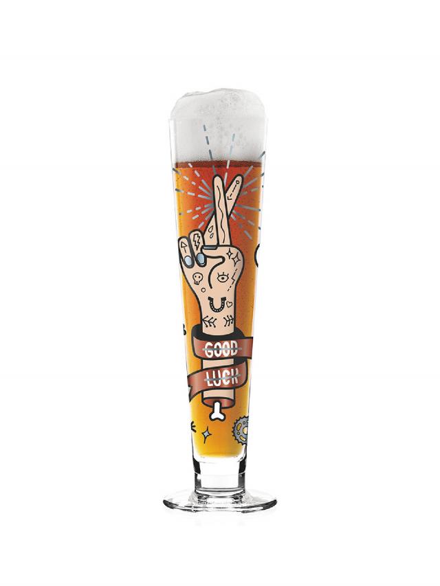 RITZENHOFF BLACK LABEL 黑標經典啤酒杯 / 給我好運