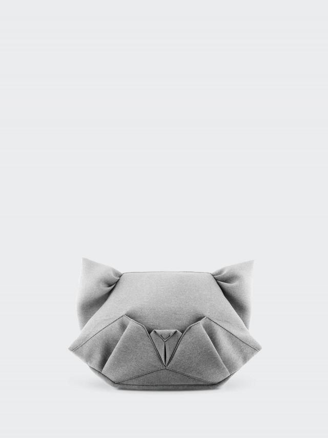 ORIBAGU ORIBAGU 摺紙包 - 灰貓 / 側後背兩用包