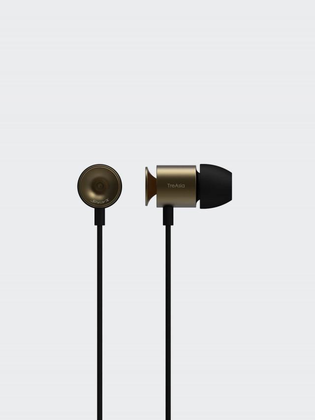 TA+d T+SO3 留聲耳機 - 全域系列 - 黃銅色