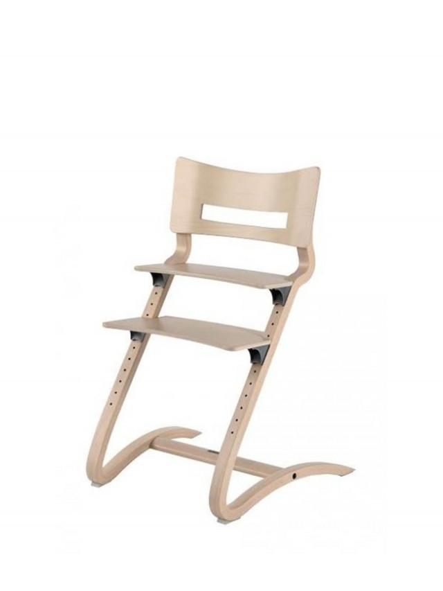 Leander 新款二代成長型餐椅 x 水洗木