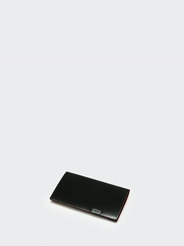 Shosa 所作 名片夾 / 卡夾 - 時尚內斂款 - 黑紅