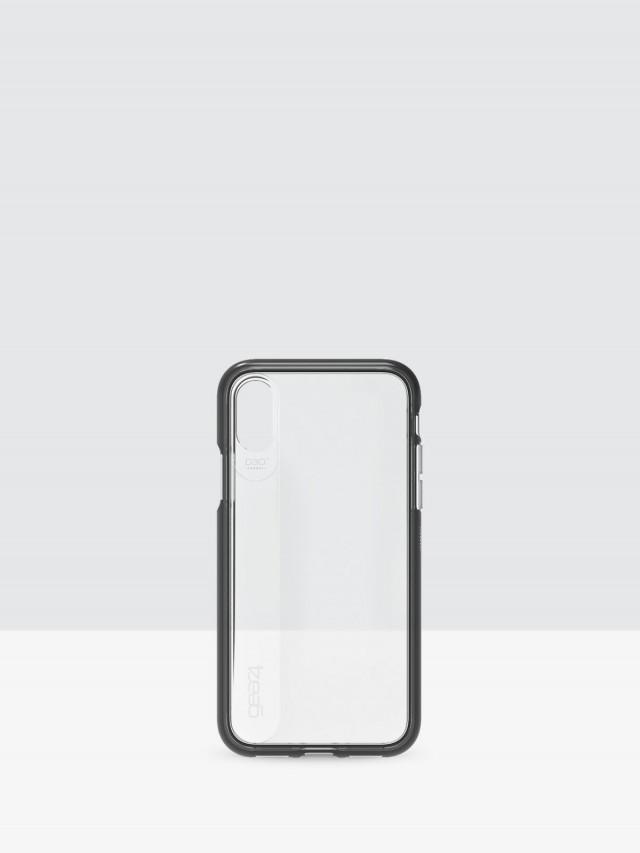 gear 4 iPhone X Windsor D3O 系列軍規防撞雙料保護殼 - 黑