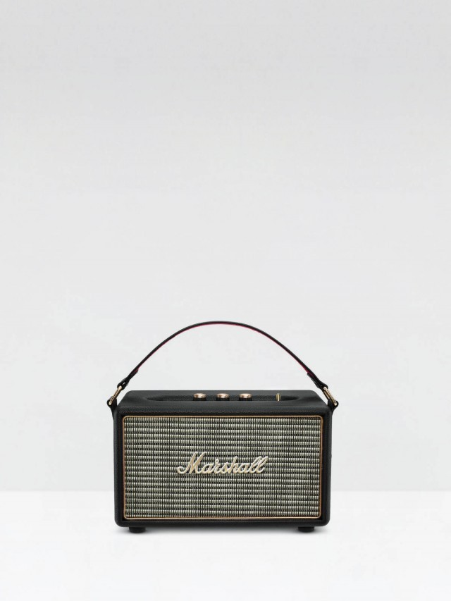Marshall 英國 Kilburn 攜帶型主動式喇叭 - 經典黑