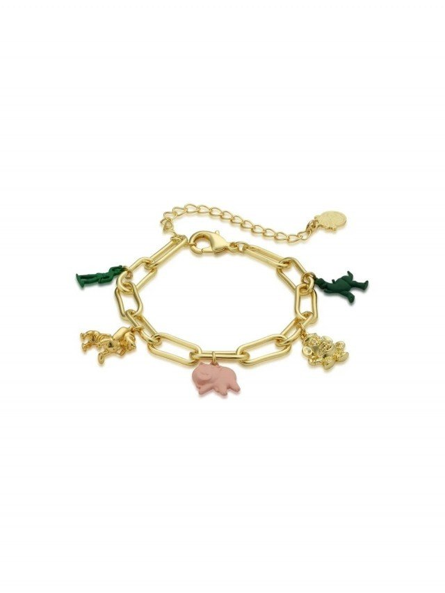 COUTURE KINGDOM Disney Jewellery 玩具總動員 魅力墜飾手鍊 x 金