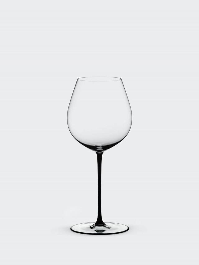 RIEDEL FATTO A MANO - Old World Pinot Noir 黑皮諾手工彩色杯梗紅酒杯 - 黑