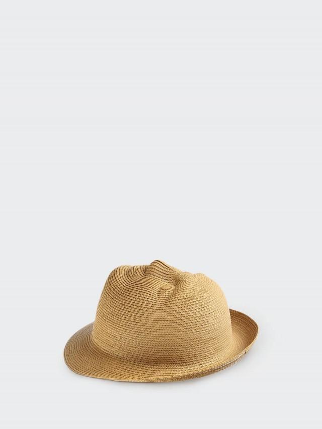 25TOGO DESIGN MASK hat 面具帽 - 人臉 / 卡其棕