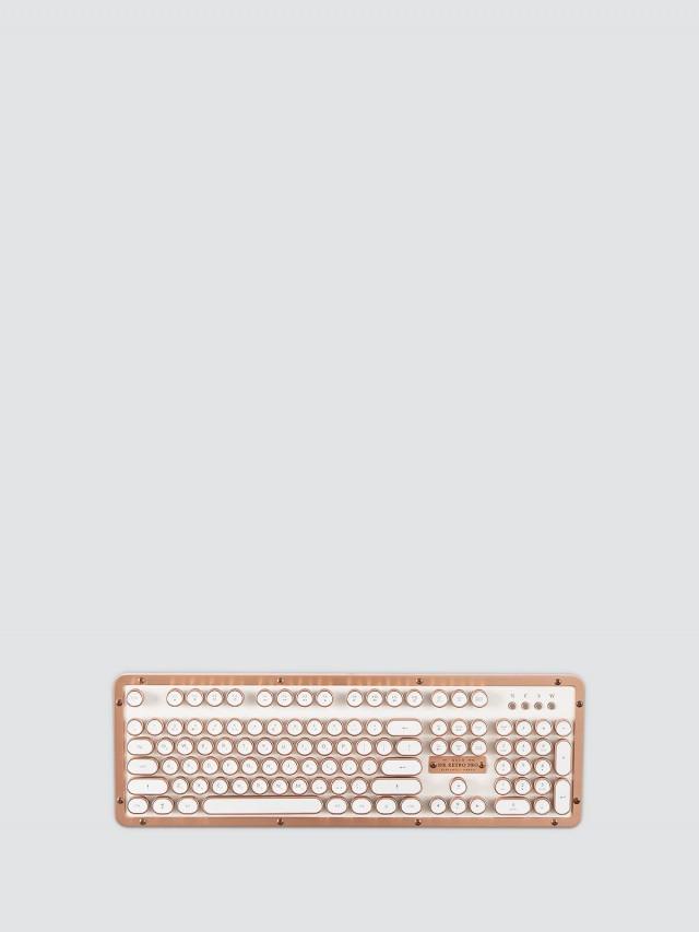 AZIO RETRO CLASSIC POSH 小牛皮復古打字機鍵盤