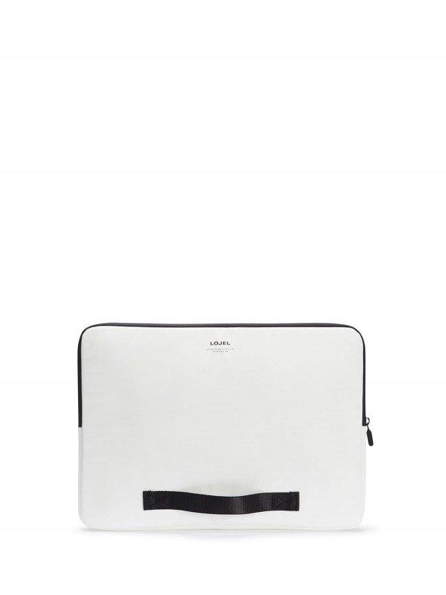 LOJEL Slash 電腦手拿包 ( 16 吋 ) - 白色