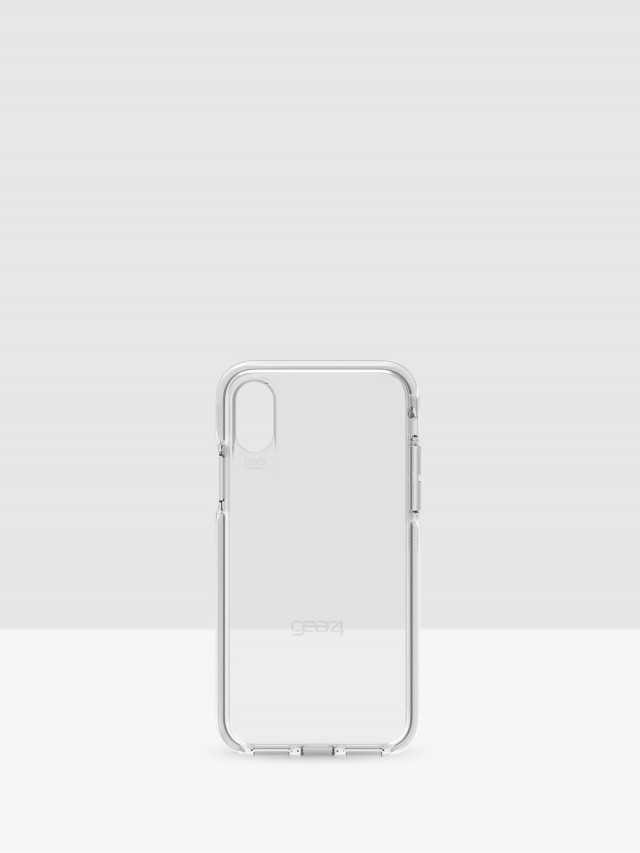 gear 4 iPhone X Piccadilly D3O 系列軍規防撞雙料保護殼 - 白
