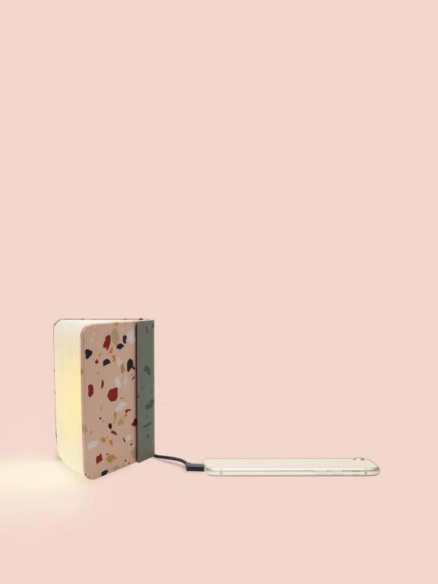 Lumio 書本燈 - 水磨石粉