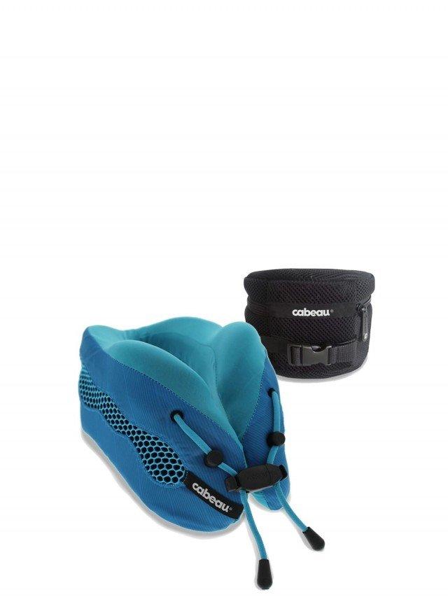cabeau 酷涼記憶棉頸枕 2.0 - 沁藍