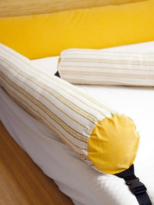 kangaruru 多功能防跌落床圍抱枕 x 加勒比陽光 - 長