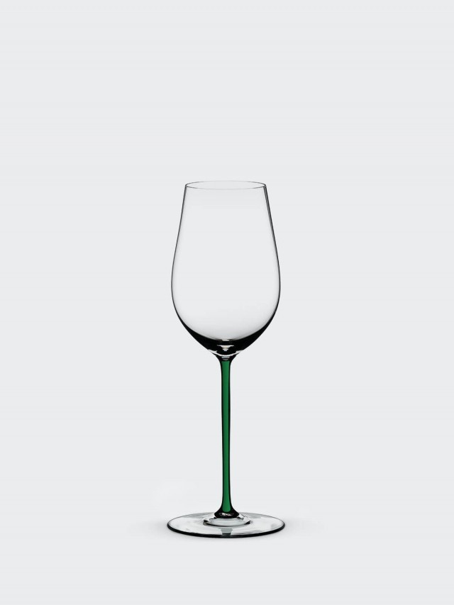 RIEDEL FATTO A MANO - Riesling / Zinfandel 手工麗絲玲白酒杯 - 綠