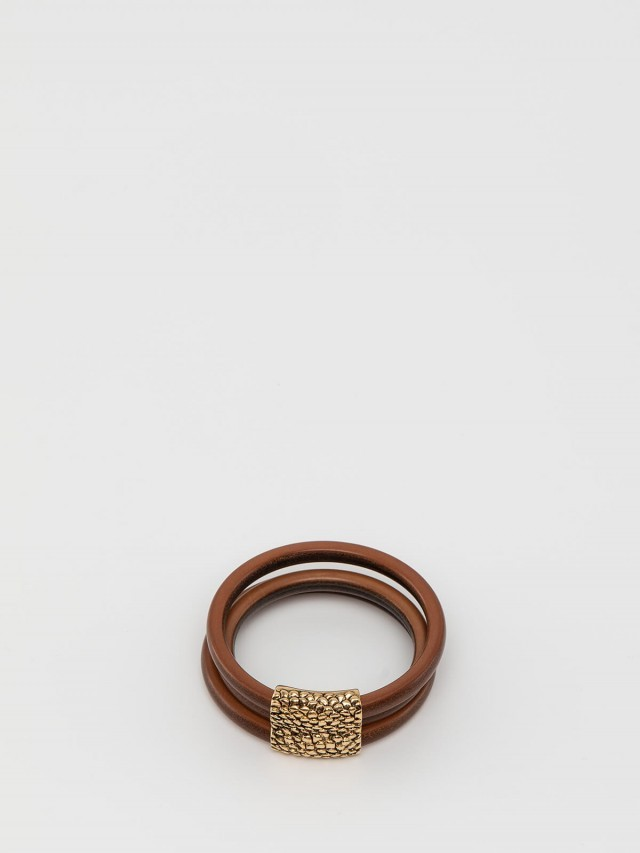 roberto cavalli 蛇紋木著仿舊手環