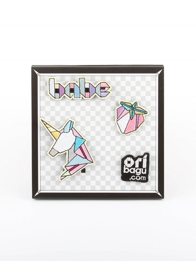 ORIBAGU ORIBAGU 摺紙別針組 - babe