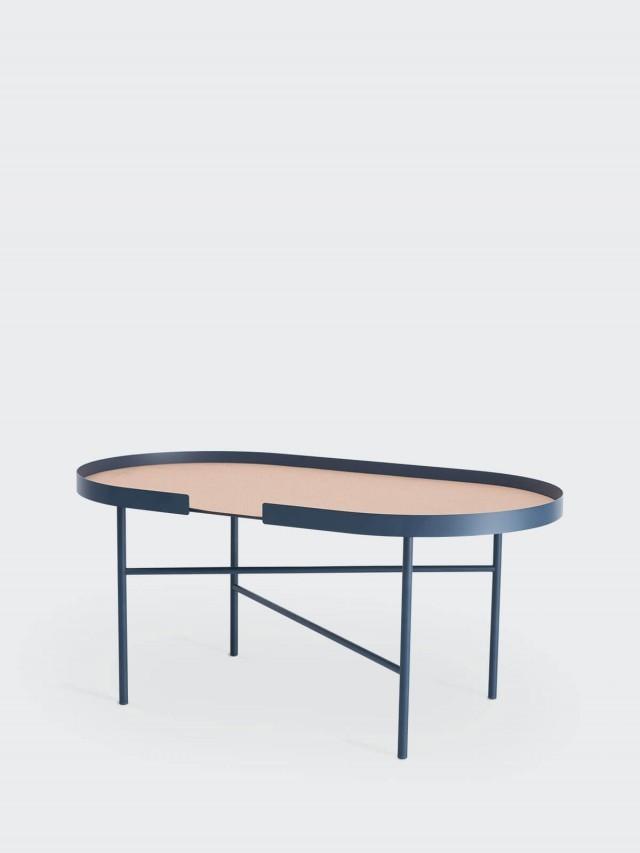 DESIGN BITE 橢圓桌 - 午夜藍
